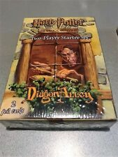 2001 x2 Harry Potter Trading Card Game Two Player Starter Set Diagon Alley