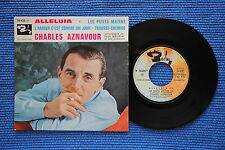 CHARLES AZNAVOUR / EP BARCLAY 70435 / VERSO 1 LABEL 1 / BIEM 06-1962 ( F )