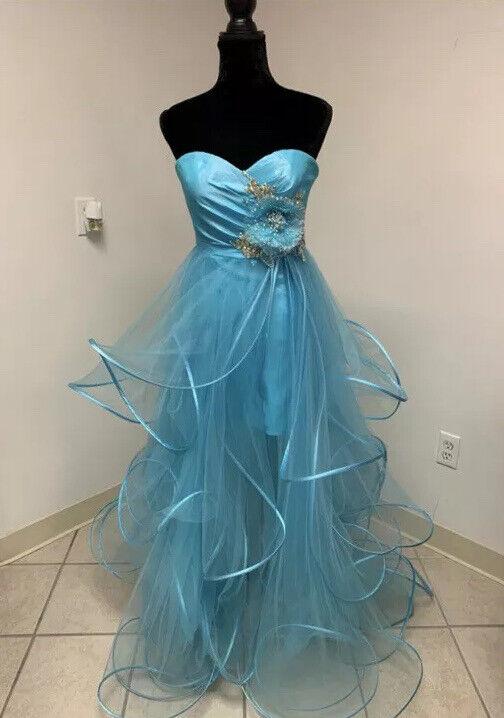 8 Hi-Low Prom Fun Fashion Homec Dance Pageant Formal Evening Gown Dress