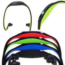 Senza fili MP3 Lettore con Radio FM Cuffie Sports Ginnastica verde fino a 32GB