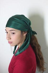 Head Scarf Tichel Hair Snood Pre Tied Bandana Jewish Chemo Headband ... a19114c7619