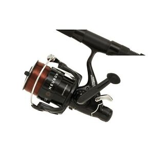 Mitchell-Neuron-Carp-Fishing-Baitrunner-Freespool-Reel-With-Line-Fits-Rod