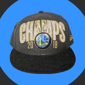 Golden State Warriors 2018 NBA Finals Champions New Era 9FIFTY Snapback Hat