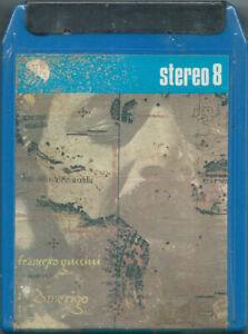 STEREO-8-TAPE-FRANCESCO-GUCCINI-Amerigo-Emi-78-1-stampa-SEALED