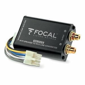 FOCAL-HILO-V3-High-End-High-Low-Adapter-Lautsprecher-auf-Cinch-Wandler