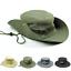 Premium-Unisex-Sun-Bucket-Boonie-Hat-Wide-Brim-Hunting-Fishing-Outdoor-Mesh-Cap miniature 1
