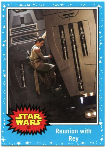 C2387 The Last Jedi #87 Topps 2017 Trade Card Journey To Star Wars