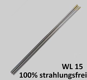 Tungstène électrodes Gold LARC 1,6 mm 2,4 mm 3,2 mm Tig Tungstène aiguille wig