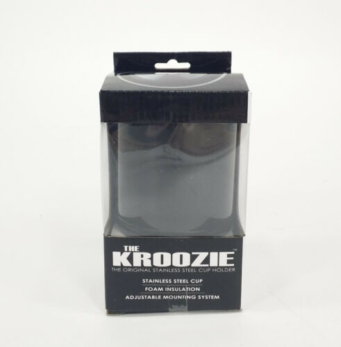 KROOZER Tasses Boisson Support KROOZER CUP 2.0 Noir Kroozer Cups 2.0