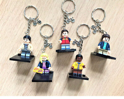 Stranger Things inspired minifigure keyring keychain gift