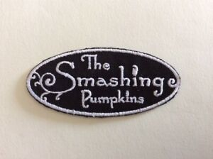 SMASHING PUMPKINS 8*6,5 CM M278 // ECUSSON PATCH AUFNAHER TOPPA NEUF