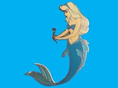 Fantasy Pin Disney Aladdin Princess Jasmine as Mermaid in Blue LE100
