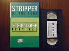 Stripper of the year - Streap-tease festival - VHS ed. Videobox rarissima