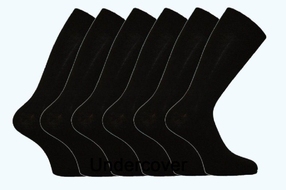 6 Paires Homme BIG FOOT plus taille robe riche coton coton coton Chaussettes Taille 11-14 f5aec5