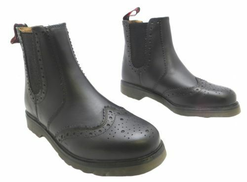 Herren CHELSEA CATESBY LEATHER DEALER BROGUE CHELSEA Herren PULL ON Stiefel,3 COLOURS 6-12 6e2e09
