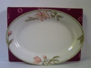 Oneida-Savannah-Porcelain-Oval-Platter-12-inch-The-Select-Collection