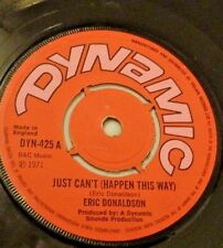ERIC DONALDSON Just Can't Happen this way  1971 England Vintage Reggae 45 Vinyl
