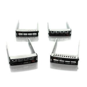 Lot-of-4-Supermicro-SC81302-XX00C004-3-5-034-SAS-SATA-Hard-Drive-Caddy-w-Screws