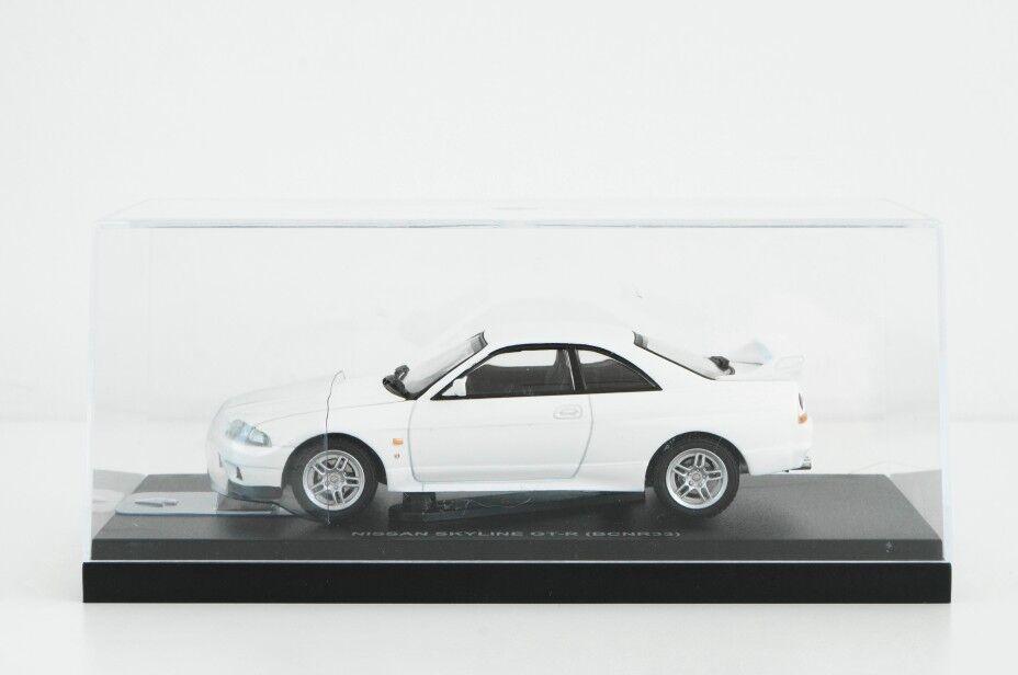 Kyosho 1 43 nissan skyline gt - r bcnr33 1995 Weiß