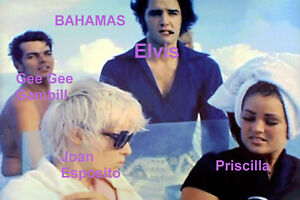 ELVIS-PRESLEY-PRISCILLA-GEE-GEE-GAMBILL-ON-BOAT-BAHAMAS-OCT-1969-PHOTO-CANDID
