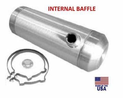 10x36 End Fill Spun Aluminum Gas Tank DUNE BUGGY  3//8 NPT 12 Gallon RATROD