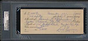 1953-Errol-Flynn-Signed-Cancelled-Autograph-Check-Robin-Hood-PSA-DNA