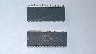 Intersil ICM7045IPI 28 pin 24 hour clock chip N Channel JFET NOS