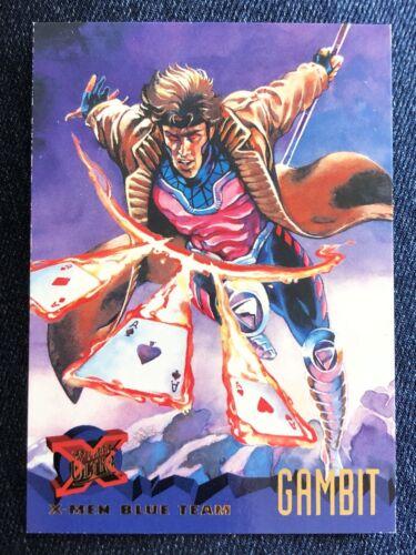 1995 Fleer Ultra Marvel X-Men Card #96 Gambit