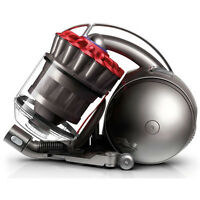 Dyson Dc39i Animal Bagless Cylinder Vacuum Cleaner Hoover Red & Grey