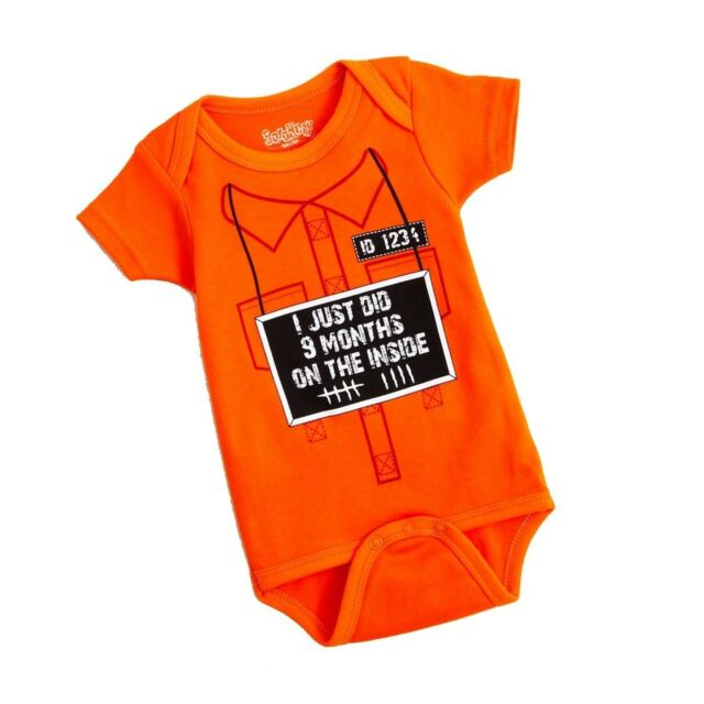 Baby One Piece Romper Jumpsuit Baby Clothes Short Sleeve  Just Did 9 mo Funny