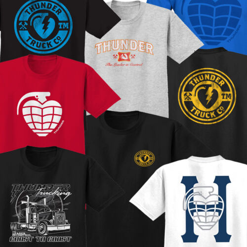 Assorted Designs Tee Shirt Skateboard Tees // T Shirts THUNDER TRUCKS