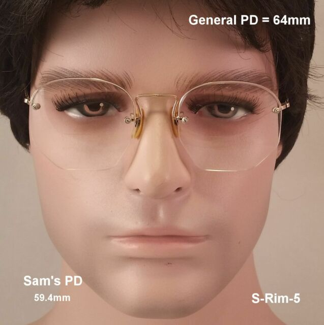 SHURON Shurset Rimway 12K Gold Fill True Vintage Eyeglasses & Case