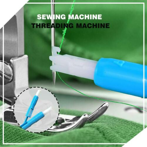 5Pcs Sewing Machine Insertion Needle Threader Applicator Handle Thread Tools us
