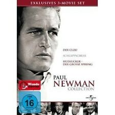 PAUL NEWMAN BOX - 3 DVD MIT ROBERT REDFORD NEUWARE