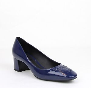 e7e470b84e8d  590 Bottega Veneta Women Dark Navy Patent Leather Heel 39.5 US 9.5 ...