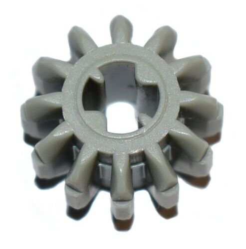 grey 12 tooth bevel part LEGO Technic cogs gears x 10 pieces 32270
