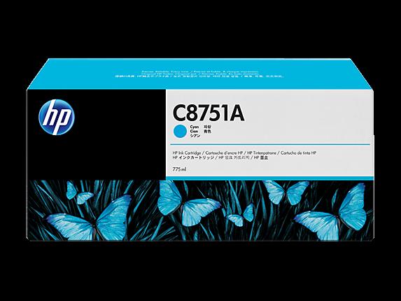 HP C8751A Cyan für Drucker CM8050 CM8060 - Original HP Druckerpatrone