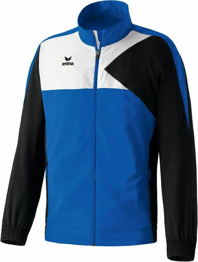 Erima Calcio Presentazione Giacca Premium One Uomo Giacca Sportiva Blu Nero