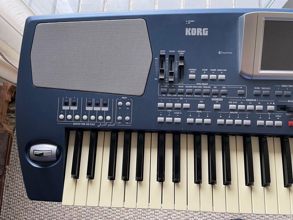 Keyboard, Korg Pa500 oriental