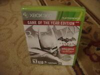 Batman: Arkham City -- Game Of The Year Edition (xbox 360, 2012)