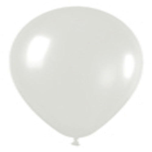 12 CRYSTAL CLEAR LATEX BALLOONS HELIUM GRADE 11