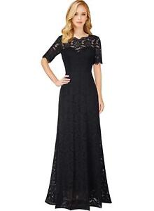 c4693f5acd78 Image is loading VFSHOW-Womens-Retro-Floral-Lace-Half-Sleeve-Formal-