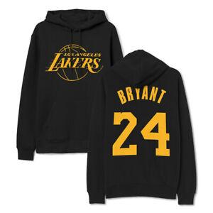 Kobe Bryant 24 Lakers Hoodie Sweatshirt Pullover Unisex Adult ...
