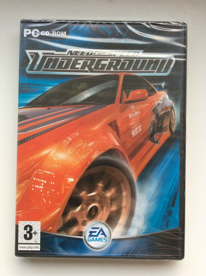 Need for Speed: Underground, til pc, racing