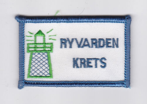 SCOUTS OF NORWAY NORGE SCOUT RYVARDEN KRET DISTRICT PATCH