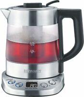 Artikelbild Severin WK 3473 Deluxe Mini Glas-Edelstahl-Schwarz Wasser und Teekocher