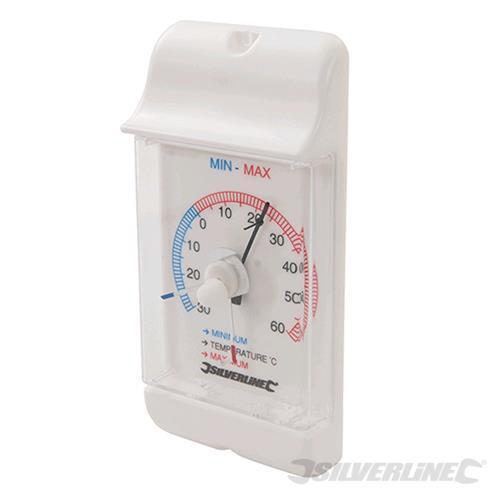 Silverline Termometro Min / Max con quadrante -30 ° a +60 ° C
