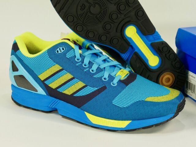 pretty nice 306e7 5e274 Adidas ZX Flux Weave light aqua/lemon peel/sun - 2014 8000 og originals  m21788