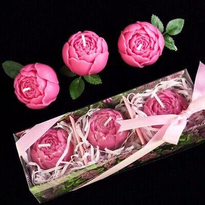 Silicone Handmade soap mold Rectangular Cake Craft Rose Flower mold DIY Tool
