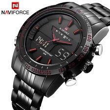 Luxury Brand NAVIFORCE Men Fashion Sport Watches Men's Quartz Digital